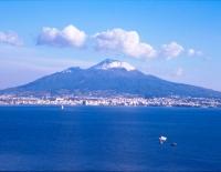 Vesuvio con Neve